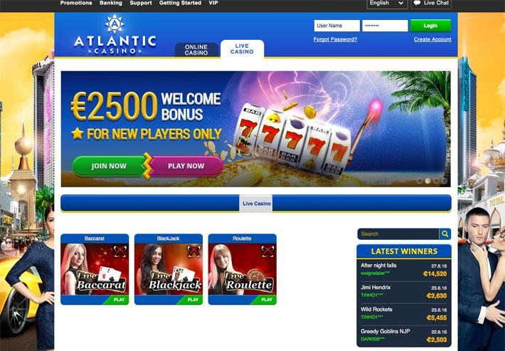 atlantic live casino