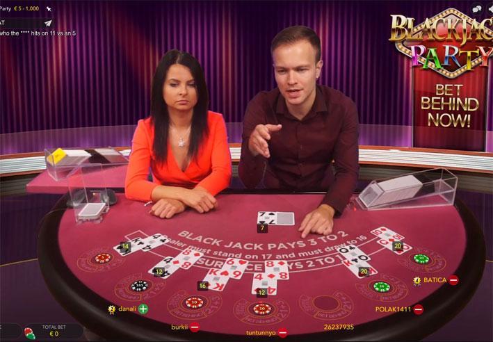 Full Party Casino Blackjack Review
