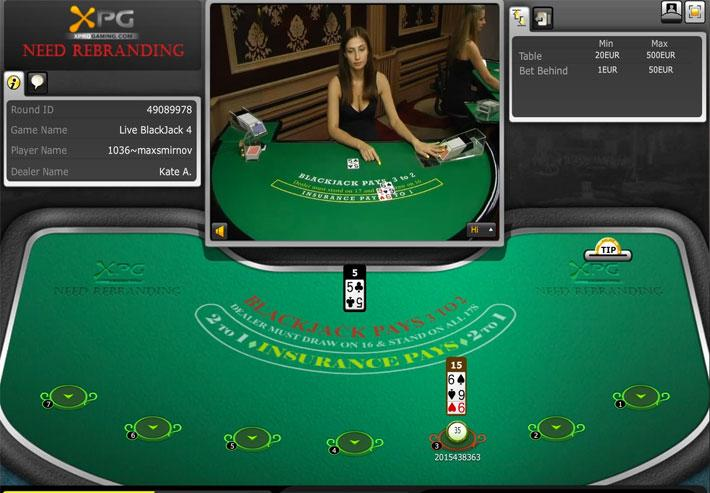 Live Blackjack – Play Live Dealer Blackjack Online