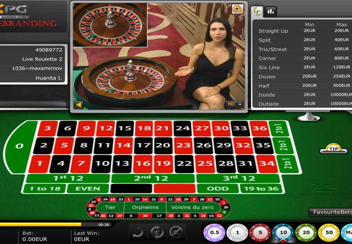 online casino dealer sissling hot
